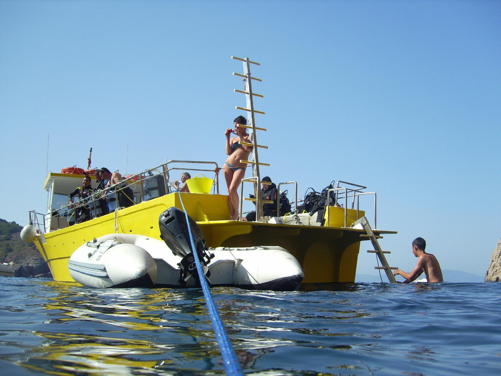 Salida en barco